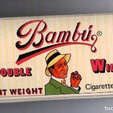 Papel de fumar: PAPEL DE FUMAR BAMBU - USA. Lote 98078683