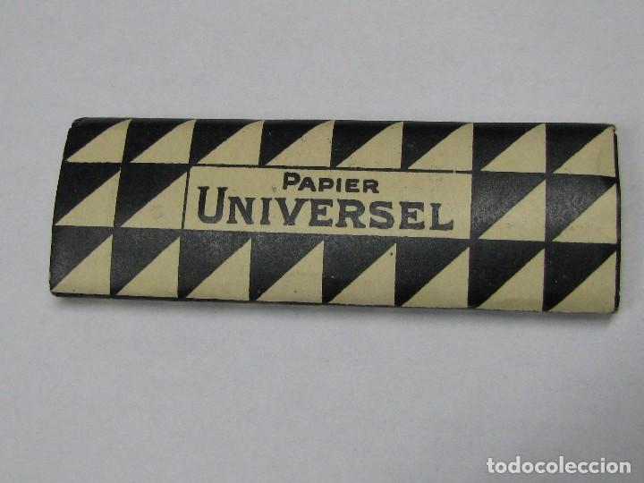 LIBRITO DE PAPEL DE FUMAR - PAPIER UNIVERSEL - LEOPOLDO FERRANDIZ - ALCOY (Coleccionismo - Objetos para Fumar - Papel de fumar )