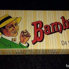 Papel de fumar: PAPEL DE FUMAR BAMBÚ 200 HOJITAS. Lote 117473448