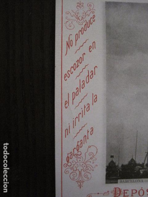 Papel de fumar: PAPEL DE FUMAR AMERICANO PARA CIGARRILLOS-CAMPMAJO-BARCELONA -PEQUEÑO CARTEL- VER FOTOS - (V-12.750) - Foto 4 - 104391727