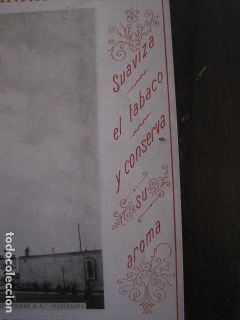 Papel de fumar: PAPEL DE FUMAR AMERICANO PARA CIGARRILLOS-CAMPMAJO-BARCELONA -PEQUEÑO CARTEL- VER FOTOS - (V-12.750) - Foto 5 - 104391727