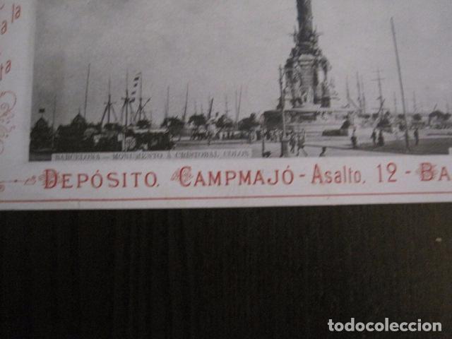 Papel de fumar: PAPEL DE FUMAR AMERICANO PARA CIGARRILLOS-CAMPMAJO-BARCELONA -PEQUEÑO CARTEL- VER FOTOS - (V-12.750) - Foto 6 - 104391727