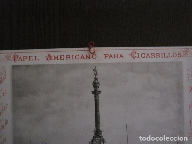 Papel de fumar: PAPEL DE FUMAR AMERICANO PARA CIGARRILLOS-CAMPMAJO-BARCELONA -PEQUEÑO CARTEL- VER FOTOS - (V-12.750) - Foto 8 - 104391727