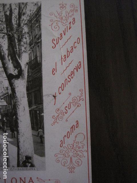 Papel de fumar: PAPEL DE FUMAR AMERICANO PARA CIGARRILLOS-CAMPMAJO-BARCELONA -PEQUEÑO CARTEL- VER FOTOS - (V-12.751) - Foto 5 - 104391883