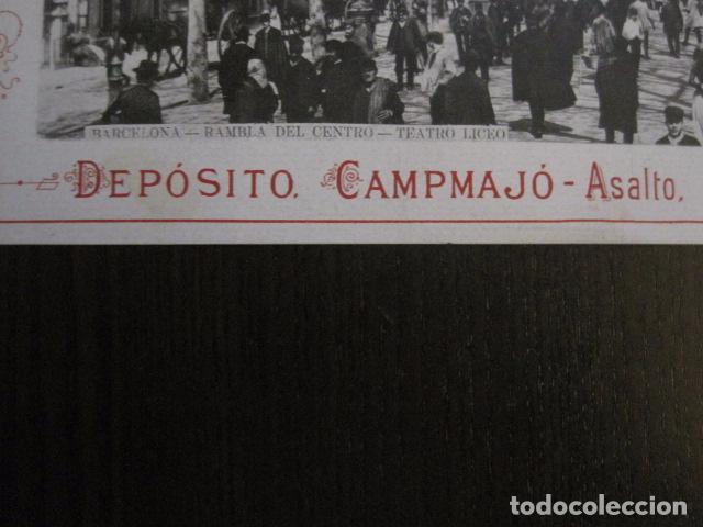Papel de fumar: PAPEL DE FUMAR AMERICANO PARA CIGARRILLOS-CAMPMAJO-BARCELONA -PEQUEÑO CARTEL- VER FOTOS - (V-12.751) - Foto 6 - 104391883