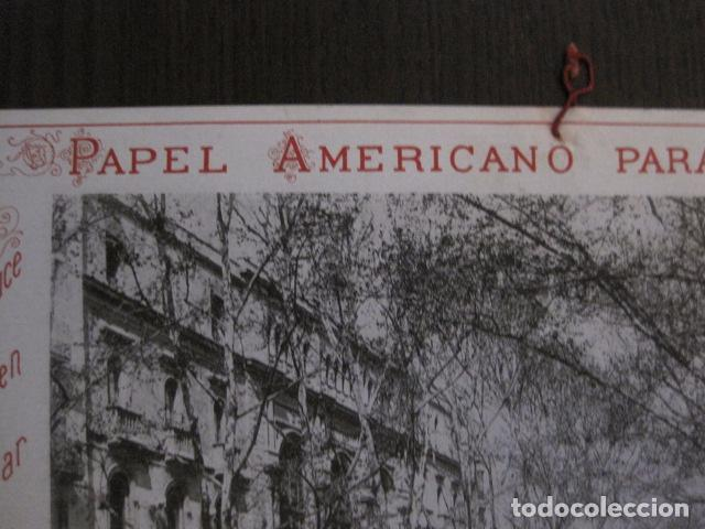 Papel de fumar: PAPEL DE FUMAR AMERICANO PARA CIGARRILLOS-CAMPMAJO-BARCELONA -PEQUEÑO CARTEL- VER FOTOS - (V-12.751) - Foto 8 - 104391883