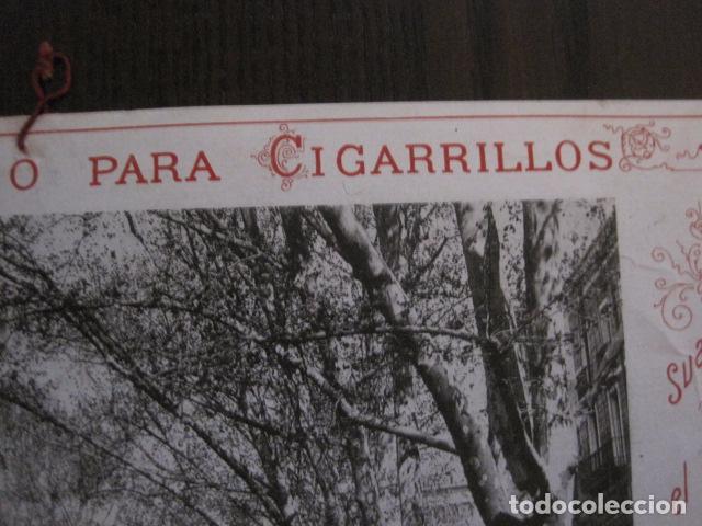 Papel de fumar: PAPEL DE FUMAR AMERICANO PARA CIGARRILLOS-CAMPMAJO-BARCELONA -PEQUEÑO CARTEL- VER FOTOS - (V-12.751) - Foto 9 - 104391883
