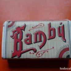Papel de fumar: PAPEL DE FUMAR BAMBU 500 HOJAS CARABINEROS. Lote 104803283