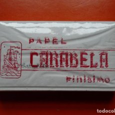 Papel de fumar: PAPEL DE FUMAR CARABELA 500 HOJAS. Lote 104893551