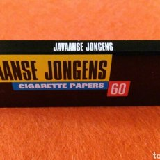 Papel de fumar: PAPEL DE FUMAR JAVAANSE JONGENS. Lote 105350063