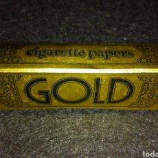 Papel de fumar: PAPEL DE FUMAR GOLD INGLATERRA. Lote 105352396