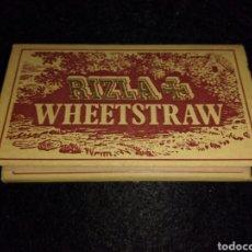 Papel de fumar: PAPEL DE FUMAR RIZLA WHEETSTRAW. Lote 105352724