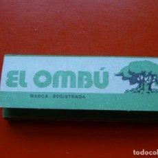 Papel de fumar: ANTIGUO PAPEL DE FUMAR EL OMBU ALARGADO. Lote 105356403