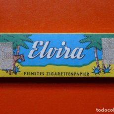 Papel de fumar: ANTIGUO PAPEL DE FUMAR ELVIRA CON PRECINTO ALEMAN. Lote 105360551