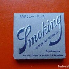 Papel de fumar: ANTIGUO PAPEL DE FUMAR SMOKING. Lote 105607627