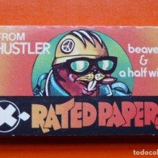 Papel de fumar: PAPEL DE FUMAR X - RATED PAPERS. Lote 107219527
