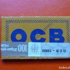 Papel de fumar: ANTIGUO PAPEL DE FUMAR OCB , FRANCES CON PRECINTO ALEMAN. Lote 107432891