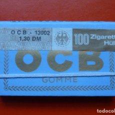 Papel de fumar: ANTIGUO PAPEL DE FUMAR OCB , FRANCES CON PRECINTO ALEMAN. Lote 107433075