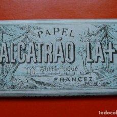 Papel de fumar: ANTIGUO PAPEL DE FUMAR ALCATRAO LA. Lote 107433967