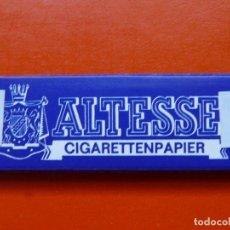 Papel de fumar: ANTIGUO PAPEL DE FUMAR ALTESSE CON PRECINTO DEL ESTE. Lote 108044395