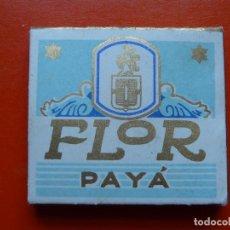 Papel de fumar: ANTIGUO PAPEL DE FUMAR FLOR PAYA. Lote 108724351