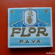 Papel de fumar: ANTIGUO PAPEL DE FUMAR FLOR PAYA. Lote 108724451