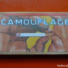 Papel de fumar: ANTIGUO PAPEL DE FUMAR CAMOUFLAGE. Lote 108813643