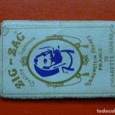 Papel de fumar: ANTIGUO PAPEL DE FUMAR ZIG ZAG. Lote 148329305