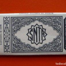 Papel de fumar: ANTIGUO PAPEL DE FUMAR SNTA, YUGOSLAVIA. Lote 110115991