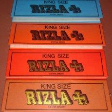 Papel de fumar: CUATRO LIBRITOS RIZLA KING SIZE. Lote 110148152
