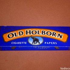 Papel de fumar: PAPEL DE FUMAR OLD HOLBORN. Lote 110148446