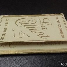 Papel de fumar: PAPEL DE FUMAR- LA CULTURA- SOBRINOS DE R.ABAD SANTONJA. Lote 110353583