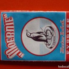 Papel de fumar: ANTIGUO PAPEL DE FUMAR MOERNIE INDONESIA. Lote 110650463
