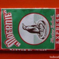 Papel de fumar: ANTIGUO PAPEL DE FUMAR MOERNIE INDONESIA. Lote 110650659