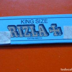 Papel de fumar: ANTIGUO PAPEL DE FUMAR RIZLA KING SIZE CON PRECINTO ALEMAN. Lote 110969687