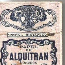Papel de fumar: PAPEL DE FUMAR ALQUITRAN NORUEGO EXTRA FABRICA JOSEPH BARDOU & FILS PERPIGNAN ORIGINAL AÑOS 20. Lote 111107387