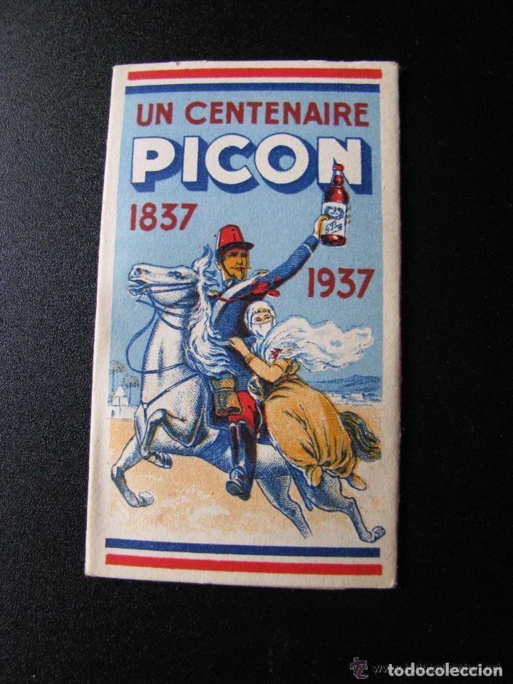 LIBRILLO DE PAPEL DE FUMAR - PICON - FRANCIA 1937 (Coleccionismo - Objetos para Fumar - Papel de fumar )