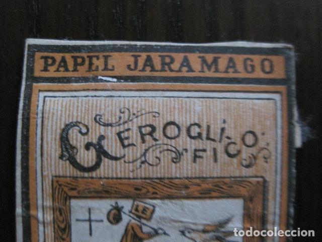 Papel de fumar: PAPEL DE FUMAR JARAMAGO - CONJUNTO 2 CROMOS -VER FOTOS - (V-13.450) - Foto 2 - 112561983