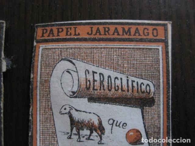 Papel de fumar: PAPEL DE FUMAR JARAMAGO - CONJUNTO 2 CROMOS -VER FOTOS - (V-13.450) - Foto 3 - 112561983