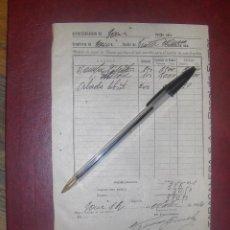 Papel de fumar: PEDIDO DE PAPEL DE FUMAR DE EXPENDIDURIA 1954. ABADIE Y BAMBU ESTANCO TABACALERA.. Lote 116332571