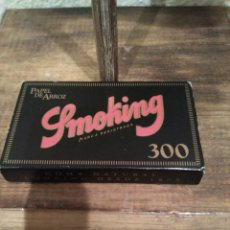 Papel de fumar: CAJA PAPEL FUMAR SMOKING PAPEL DE ARROZ. Lote 117075707