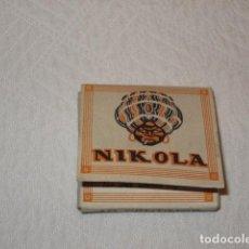 Papel de fumar: LIBRO PAPEL DE FUMAR NIKOLA TABACO FUMADOR LIAR. Lote 117118371