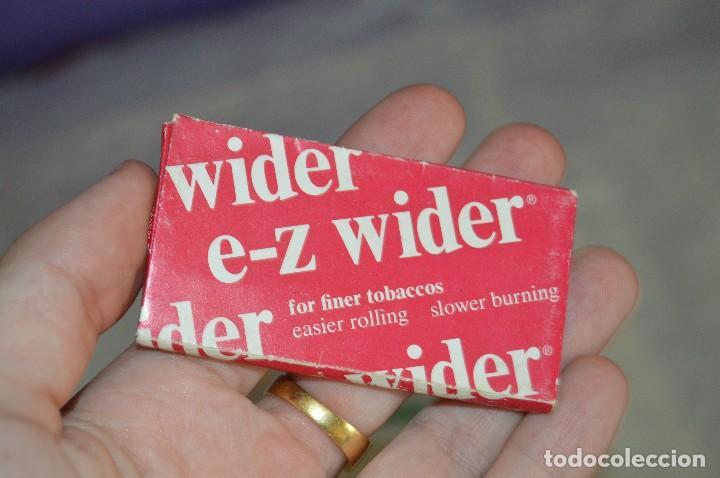 Papel de fumar: ENORME LOTE DE 18 PAQUETES DE PAPEL DE FUMAR DE COLECCIÓN - VARIADOS - CURIOSOS - HAZ OFERTA - Foto 26 - 121973623