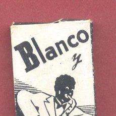 Papel de fumar: PAPEL DE FUMAR BLANCO Y NEGRO, COMPLETO, SIN USAR, VER FOTOS. Lote 122250583