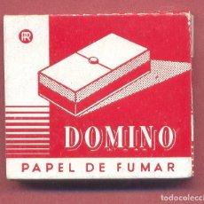 Papel de fumar: PAPEL DE FUMAR , DOMINO, COMPLETO, SIN USAR, VER FOTOS. Lote 122250763