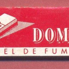Papel de fumar: PAPEL DE FUMAR , DOMINO, COMPLETO, SIN USAR, VER FOTOS. Lote 122250835
