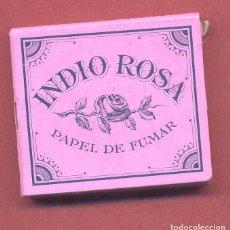 Papel de fumar: PAPEL DE FUMAR , INDIO ROSA, COMPLETO, SIN USAR, VER FOTOS. Lote 122251051
