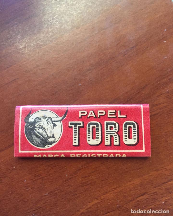 LIBRITO DE PAPEL DE FUMAR - EL TORO - HIJO DE C. GISBERT TEROL - ALCOY (Coleccionismo - Objetos para Fumar - Papel de fumar )