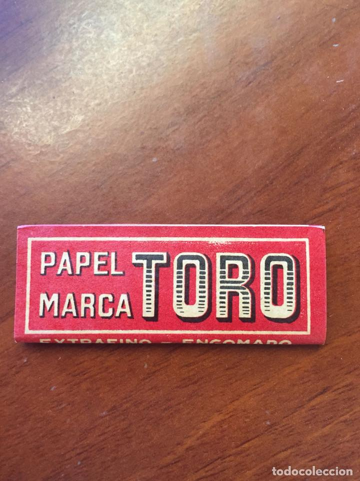 Papel de fumar: LIBRITO DE PAPEL DE FUMAR - EL TORO - HIJO DE C. GISBERT TEROL - ALCOY - Foto 2 - 128894719
