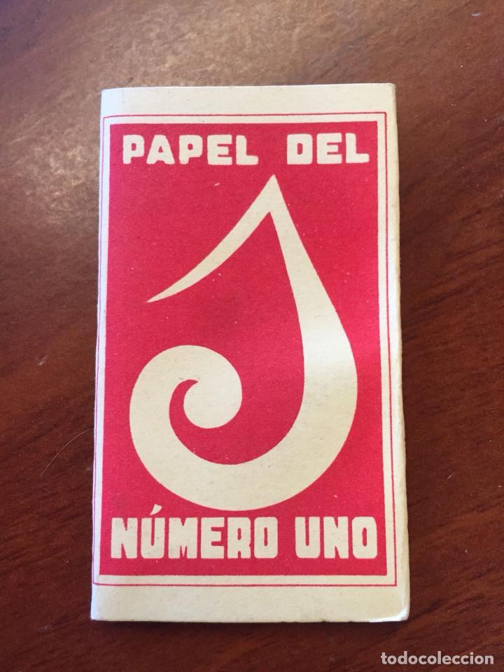 LIBRITO DE PAPEL DE FUMAR - EL UNO - (Coleccionismo - Objetos para Fumar - Papel de fumar )